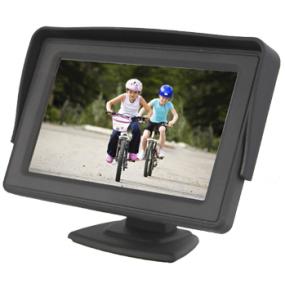 Monitores y pantallas universales multi-usos para el coche.