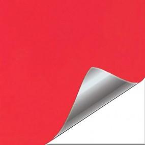 Aufkleber aus Vinyl, Rot, Matt-für Auto und Motorrad