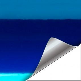 Negozio Di Vinile Blu Cromato - WrapWorkers®