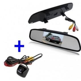 Bildschirme mit dem Auto. Kit Rückfahrkamera