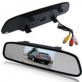 Rearview with Camera. Wireless Camera