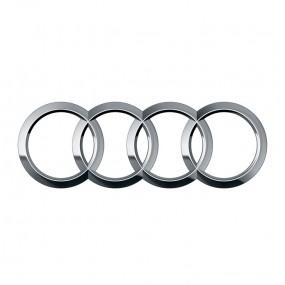 Pedales Audi: acelerador, freno, embrague y reposapiés