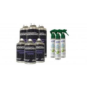 Sprays, Desinfektionsmittel für zu Hause und Büros