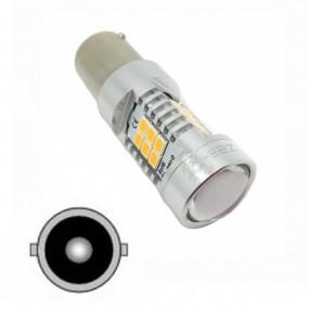Bulbo claro do diodo EMISSOR de luz Ba15s 1156 P21W para carro marca Zesfor®