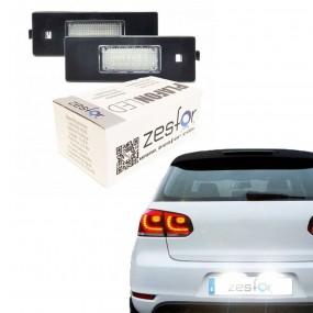 Led-Kennzeichenhalter. LED-lampen Auto zugelassen
