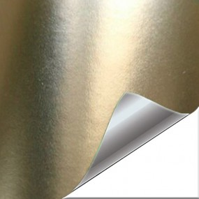 Boutique Vinyle Champagne Chrome Mat - WrapWorkers®