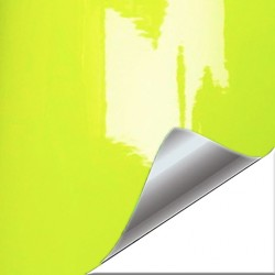 Vinyl fluorescent yellow