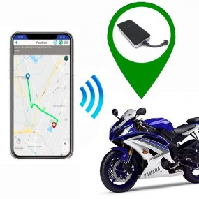 GPS location finder Moto and App. Tracker GPS for motorcycle
