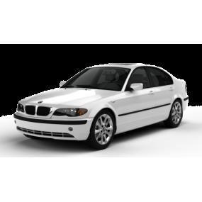 TAPETES E46 | Tapetes à medida BMW E46 Terciopelo e Borracha