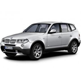 TAPETES E83 | Tapetes à medida BMW E83 Terciopelo e Borracha