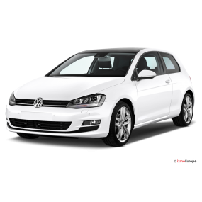 Mats as Volkswagen Golf VII Velour