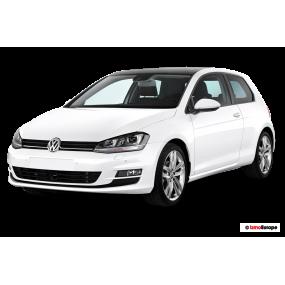 Fußmatten nach maß Volkswagen Golf VII Velour