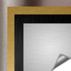 Vinyl, Aluminium -, Titan-Schwarz Gebürstet