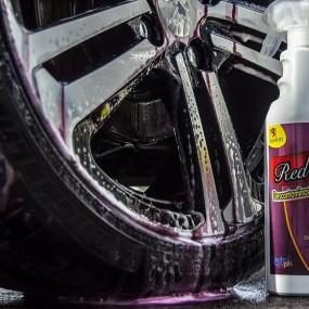 Die dekontamination von Auto - reinigungsmittel, Auto