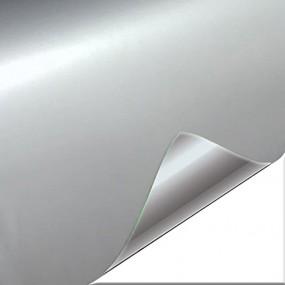 Vinyl Glänzend Silber Auto
