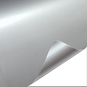 Vinyl Silver Bright Car