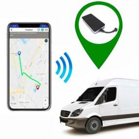 Localizador GPS Furgonetas comerciales - App + cortacorrientes