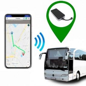Localizzatore GPS per il Bus. Controlla tutti i movimenti.