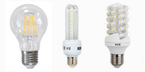 Luzes de luz doméstica
