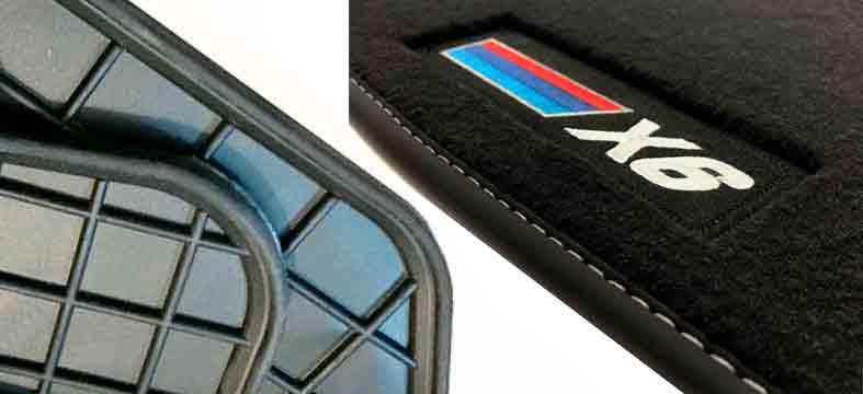 Floor mats, car