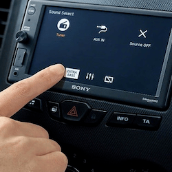 Radios car
